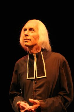 Leonardo Defilippis portrays St. John Vianney in a new one-man play about the saint's life. The drama is touring the nation during the Year for Priests. Photo courtesy St. Luke Productions.